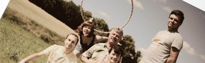 Rodzinny projekt z hula hoop!
