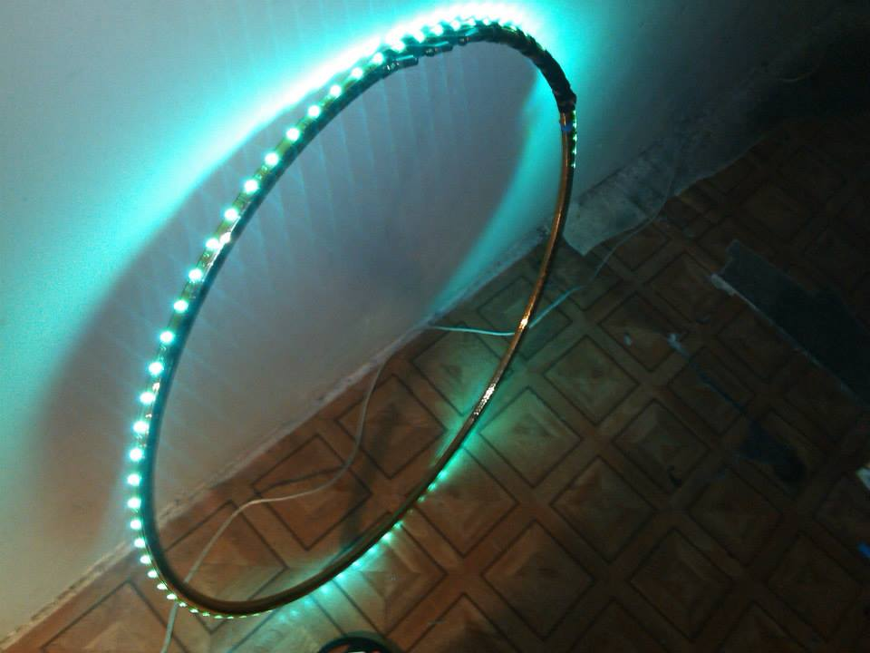 led spin me
