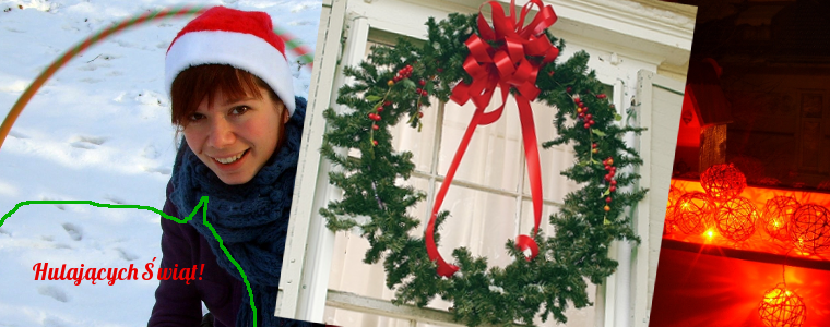Hula-hoop na świątecznie