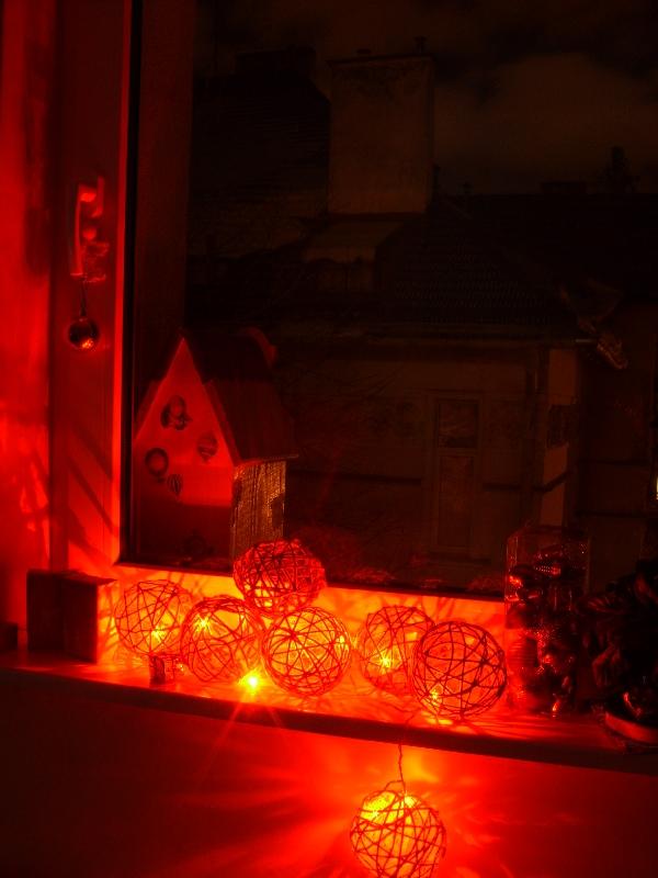 lampki z włóczki DYI