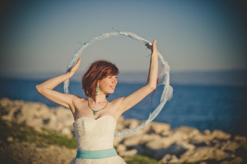 wedding hula hoop