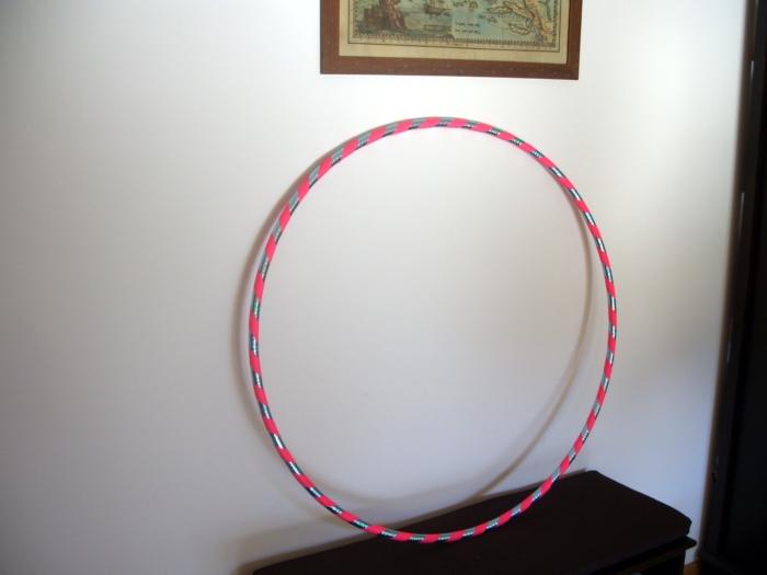 wlasnorecznie obklejone hula hoop