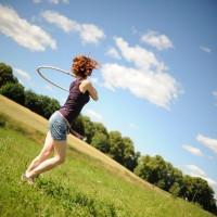 Nie idę w zaparte…? Ale w hula-hoop, owszem.